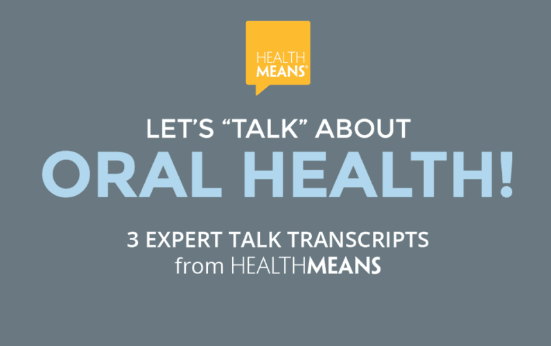 Let's Talk About Oral Health